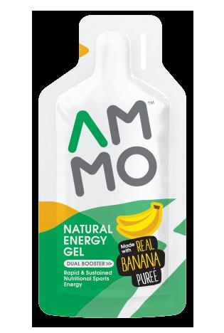 Natural Energy Gel สูตรผสมเนื้อกล้วยบด